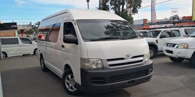 2005 TOYOTA HIACE COMMUTER MANUAL BUS
