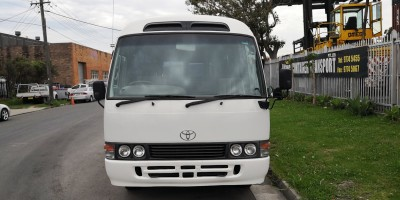 2000 Toyota Coaster Deluxe Manual Diesel Bus