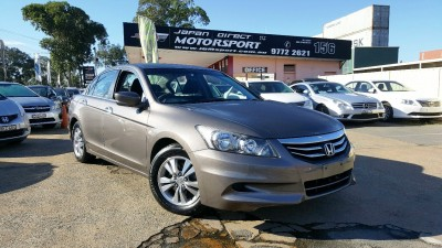 2012 HONDA ACCORD VTi