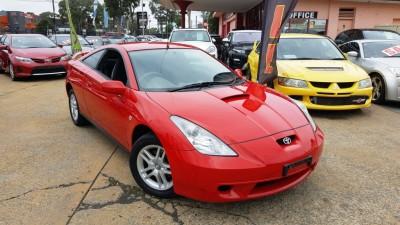2000 CELICA AUTO RED