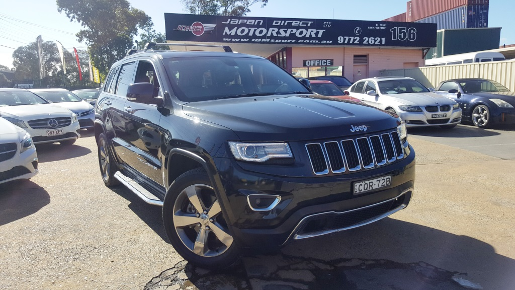 2013 Jeep Grand Cherokee Limited Auto 4×4 My14 Japanese Used