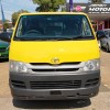 2009 TOYOTA HIACE LWB MANUAL