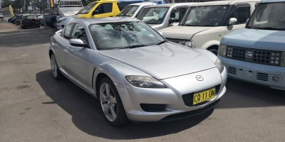 2005 MAZDA RX-8 4D COUPE MANUAL, LOW KMS
