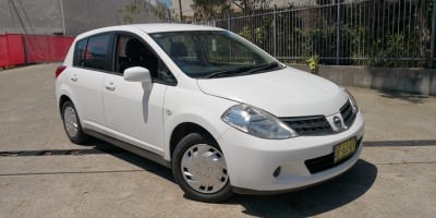 2012 Nissan Tiida ST C11 S3 Auto