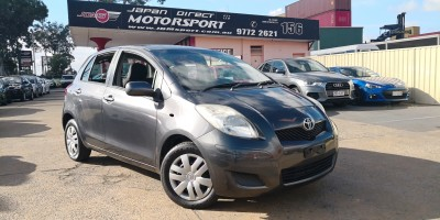 2010 TOYOTA YARIS YR AUTO 5 DOOR HATCH
