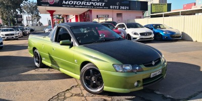 2002 HOLDEN UTE SS VY AUTO