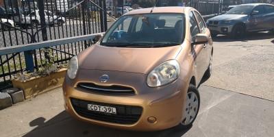 2011  NISSAN MICRA ST-L AUTO HATCH