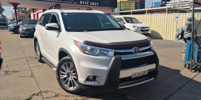2014 TOYOTA KLUGER GRANDE AUTO AWD 7 SEATER