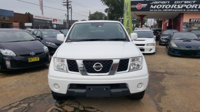 2012 NISSAN NAVARA RX D40 AUTO 4X2 DUAL CAB