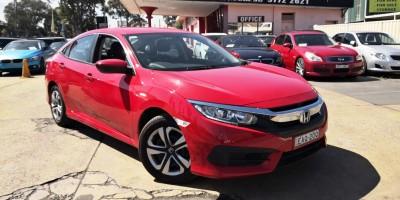2017 HONDA CIVIC VTi 10th Gen Auto Sedan