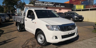 2013 TOYOTA HILUX  Workmate Manual 4x2