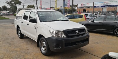 2009 Toyota Hilux Workmate Manual 4x2 MY10 Dual Cab