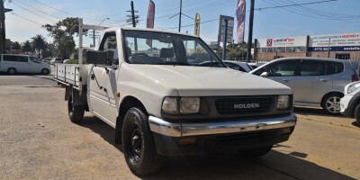 1991 Holden Rodeo DLX TF Manual 4x2